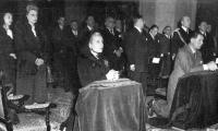 With Evita at the Lujan Basilica, April 25, 1949.jpg